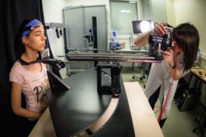 Dispositif médical d'étude de la peau.