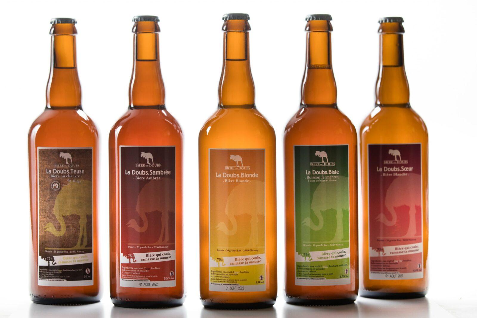 Packshot bière artisanale - Brasserie bière du Doubs