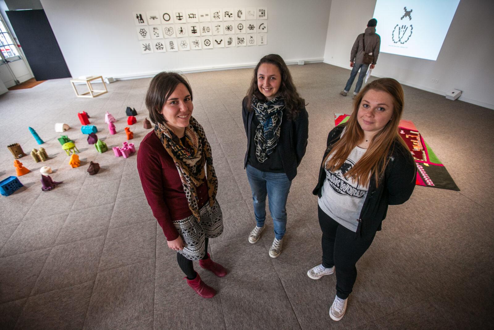 Exposition culturelle organisée par des étudiants