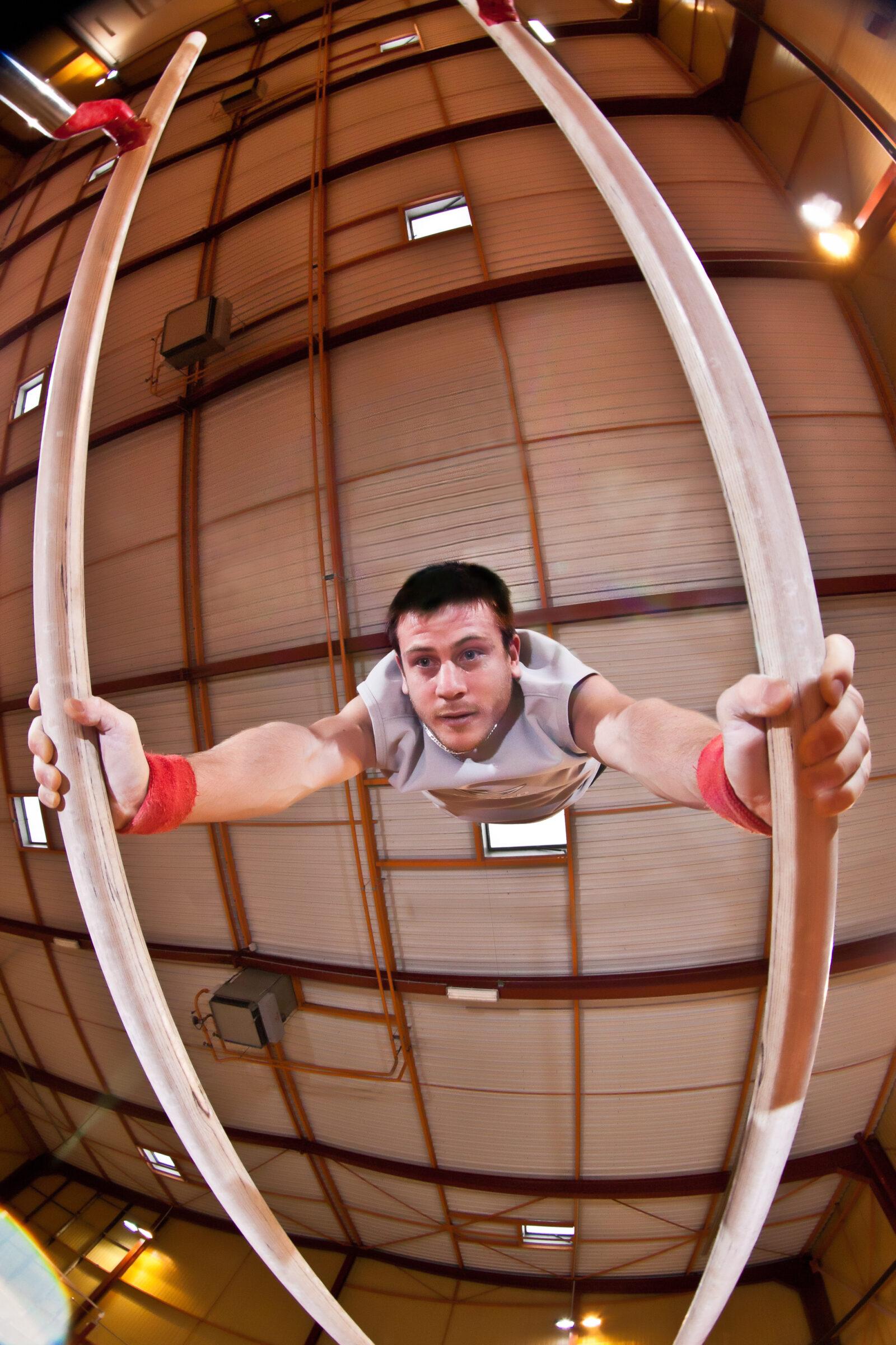 gymnastique barres parallèles