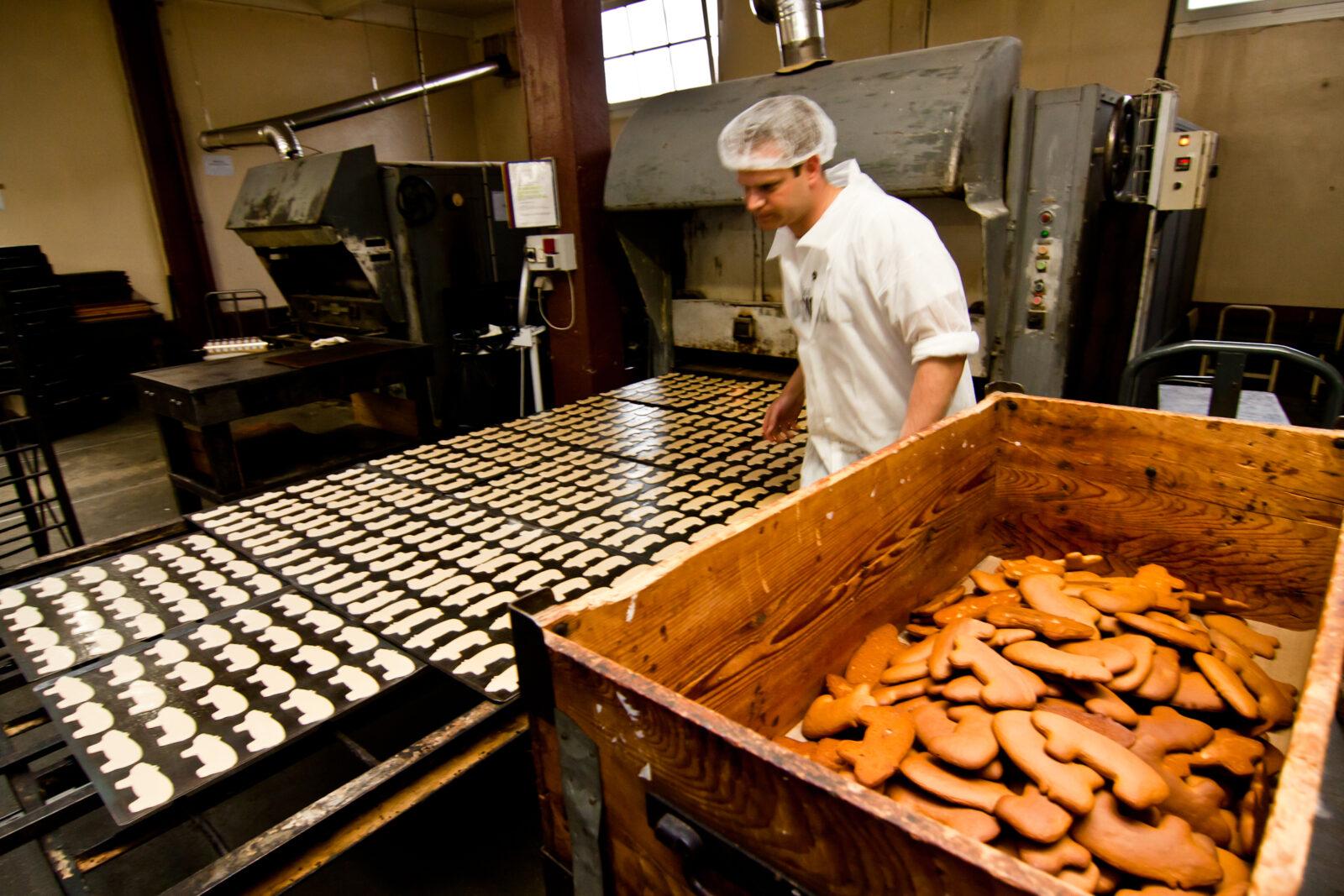 Fabrique artisanale de pain d'épice