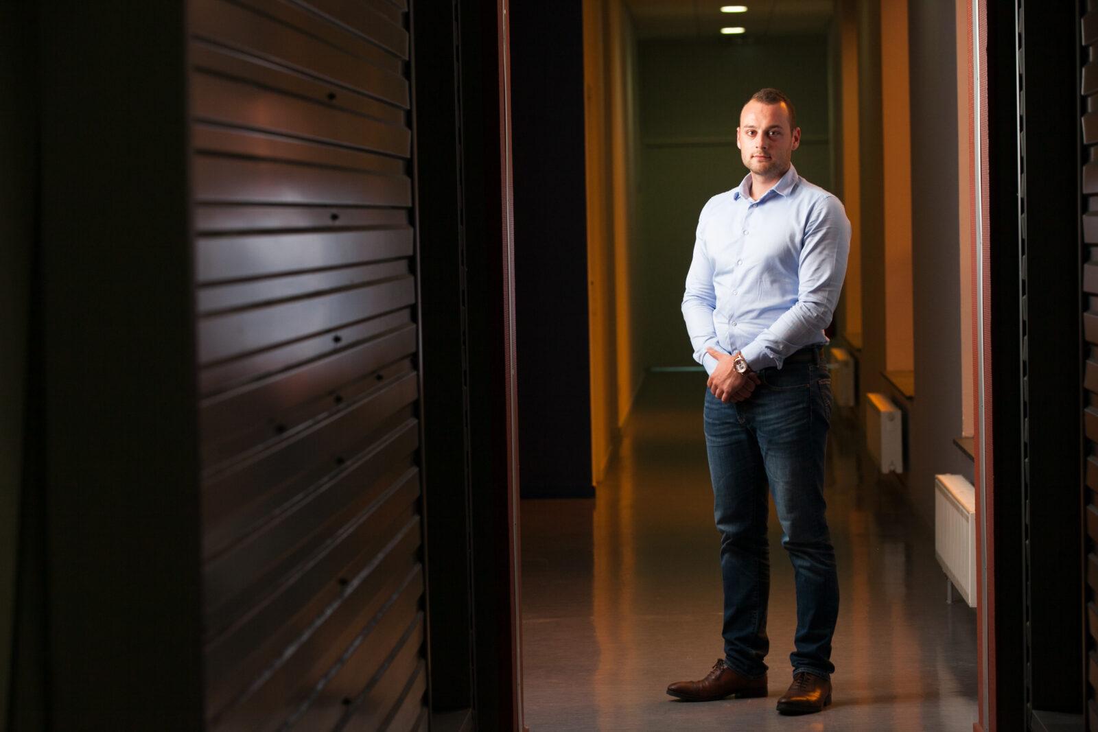 Portrait d'un directeur d'une startup