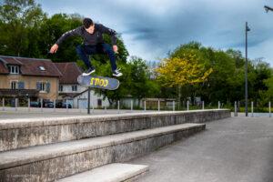kick flip Arslane Couscous Griptape